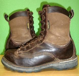 Vtg Danner Frontier 8 Quot Gtx Cordura Amp Leather Hunting