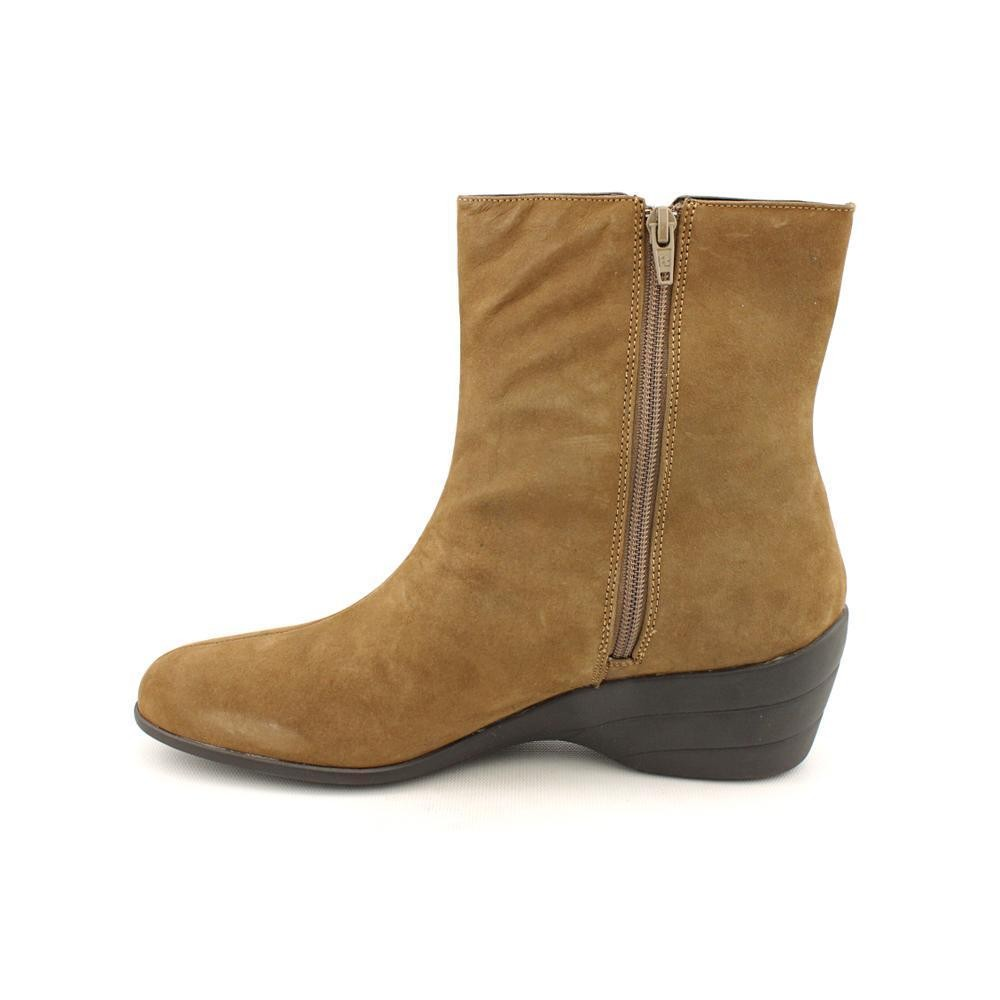 david tate puppy womens brown nubuck narrow fashion ankle