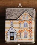 1x-Lovely-Mini-Full-Painted-Small-House-Tin-box-Jewelry-box-6-option
