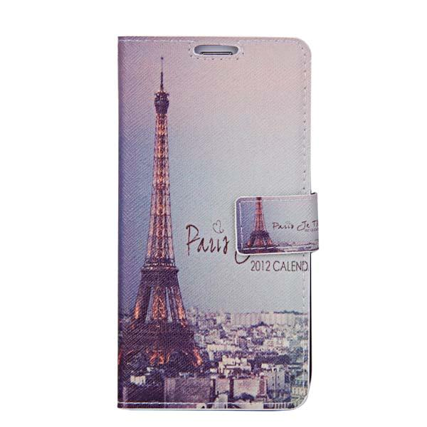 1 x Paris Eiffel Tower PU Leather Flip Wallet Case Cover Skin for iPhone 4 4S