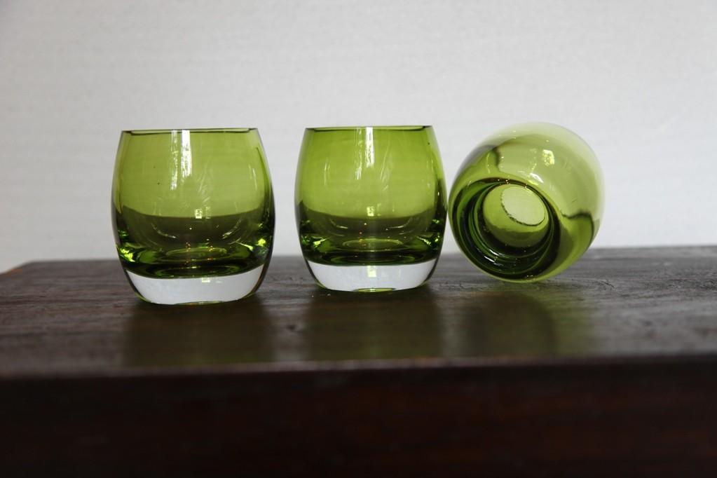 Green drinking glasses, Scandinavian? 693038500_o