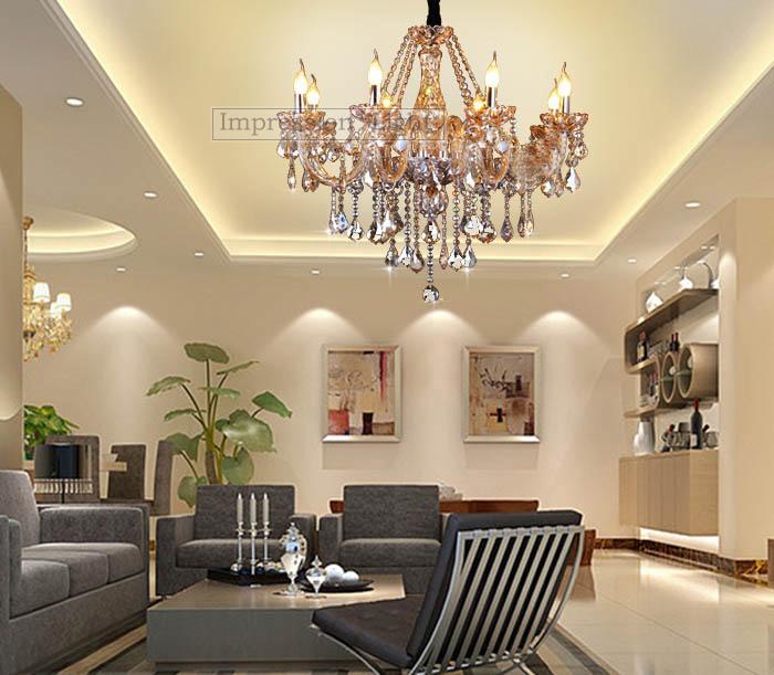 crystal ceiling light bedroom dining room chandelier 8 lamps ebay