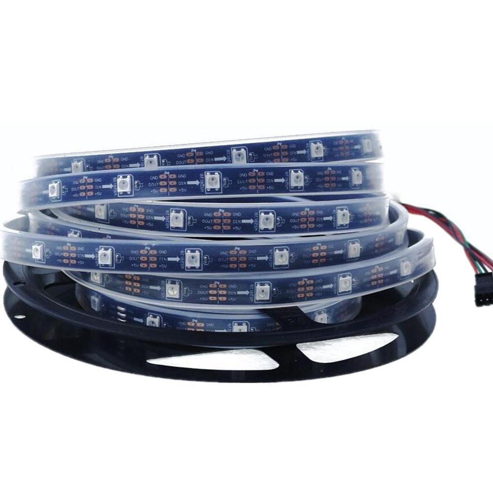 led streifen licht fixel ws2812b ws2811ic 150leds 300leds 5050 smd rgb farben 5v ebay. Black Bedroom Furniture Sets. Home Design Ideas