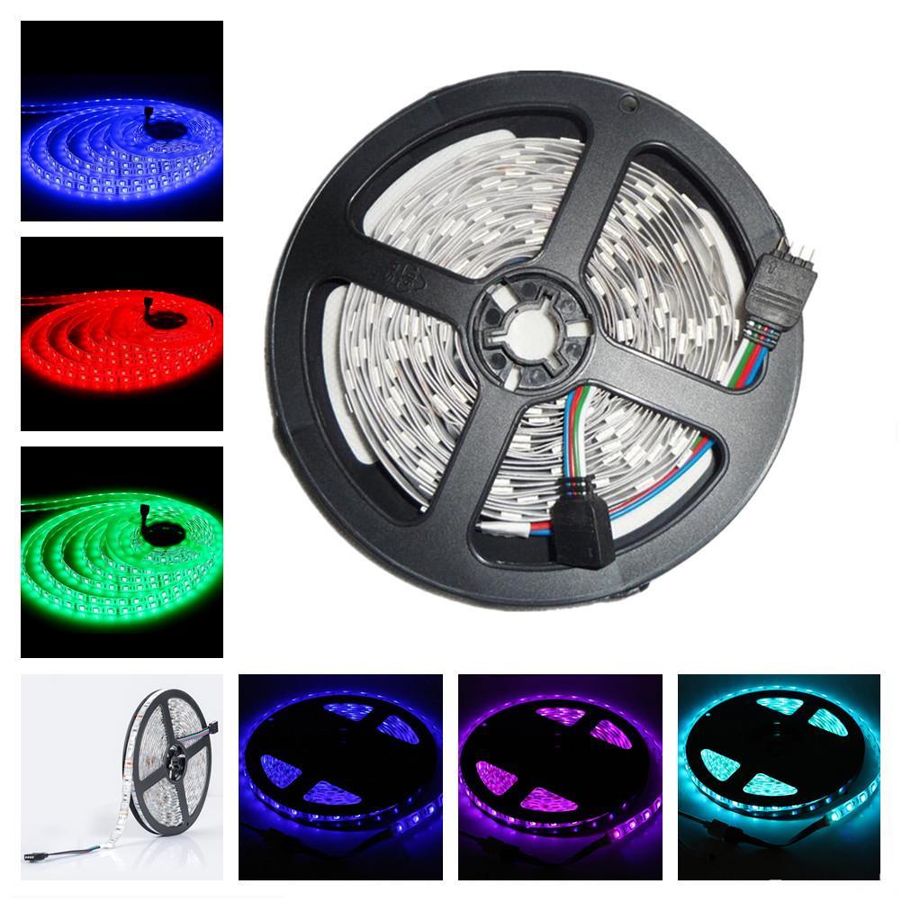 5M LED Strip Streifen RGB SMD 5050 300 LEDs 60Leds/M 5V