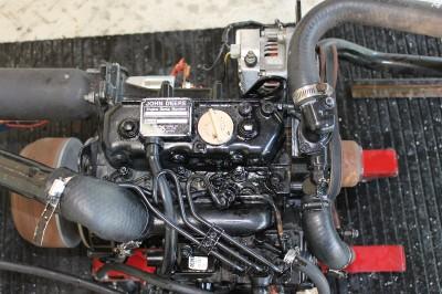 Details about JOHN DEERE GATOR YANMAR DIESEL ENGINE 3TN66