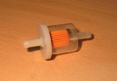 INLINE FUEL FILTER Petrol Diesel Dirt Bike Lawn Mower