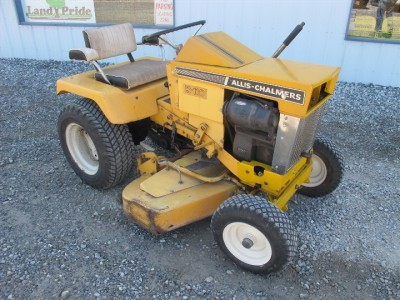 Allis Chalmers B 110 Lawn Garden Tractor With 42 Mower