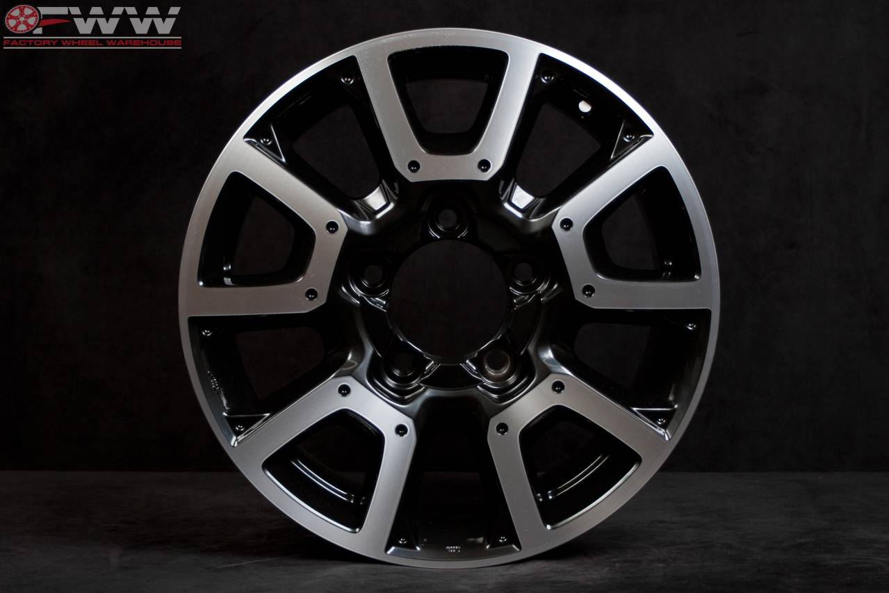 toyota tundra 18 2014 14 factory oem wheel rim 75157 ebay. Black Bedroom Furniture Sets. Home Design Ideas