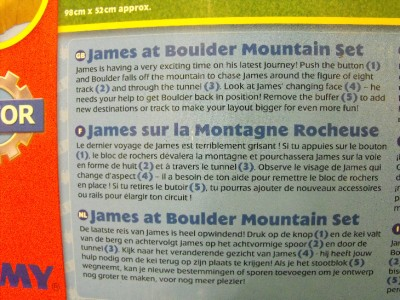 thomas boulder mountain set instructions