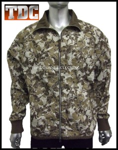 NEW-NIKE-BROWN-CAMOUFLAGE-CAMO-LIGHTWEIGHT-F-Z-JACKET-M