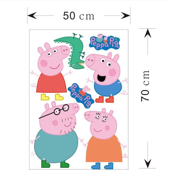 Peppa Pig George Removable Baby Nursery Home Decal Wall