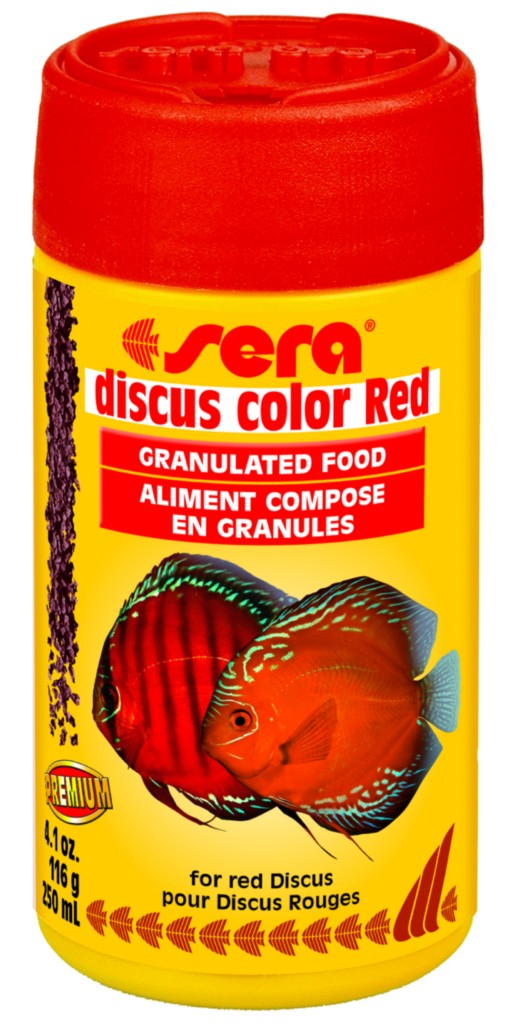 Details about Fish Food/Discus/Gr anules/SERA Discus Colour RED 250ml ...