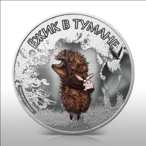 Ежик в тумане попал на монеты Островов Кука