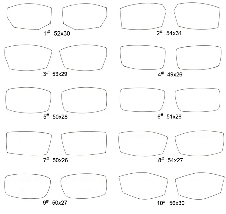 Rimless Glasses Lens Shape : lens shapes for rimless eyeglasses Global Business Forum ...