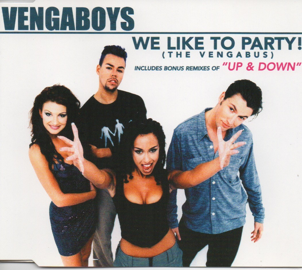 Vengaboys we like to party the vengabus cd maxi single central station