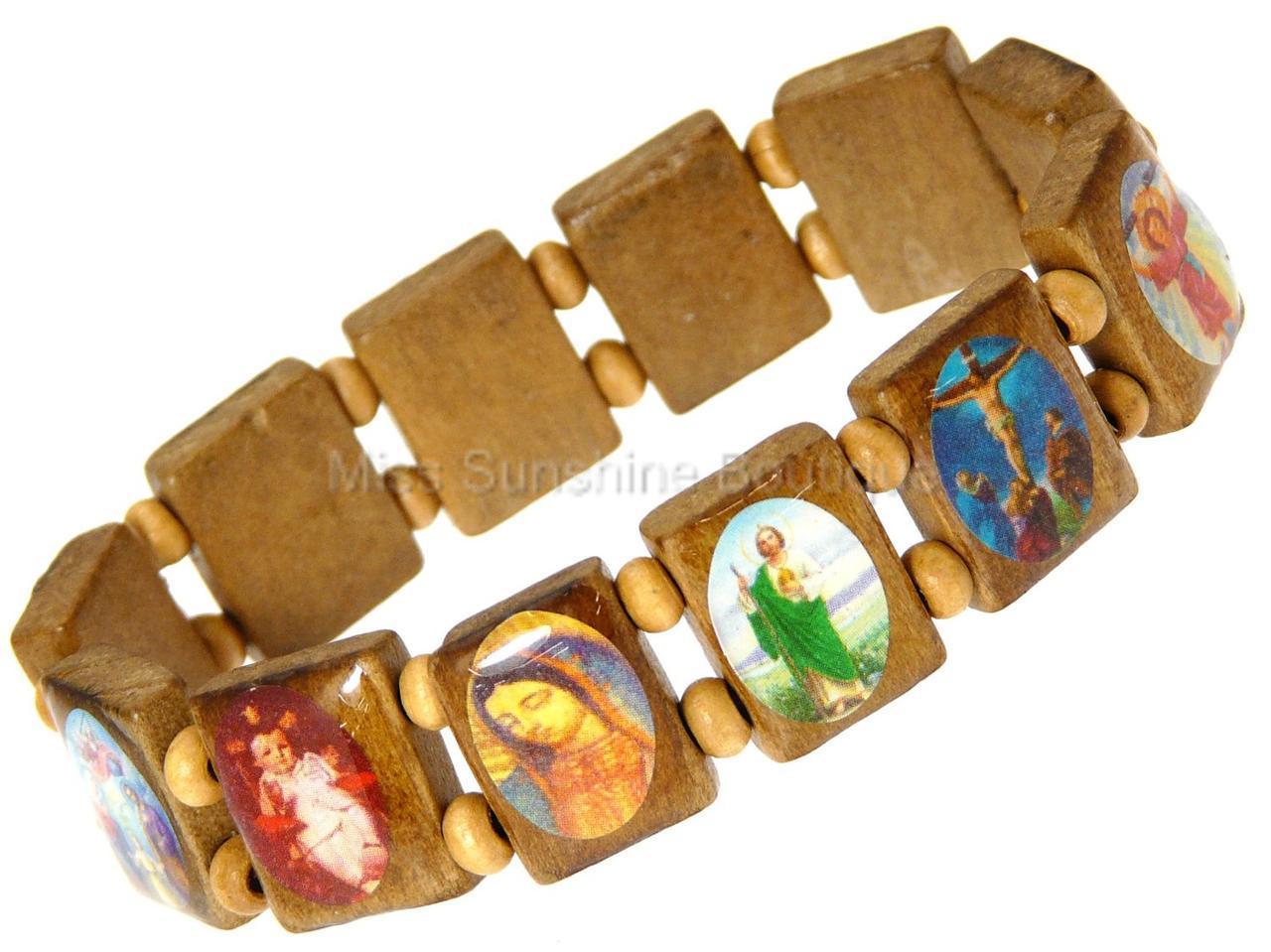 all saints religious catholic christian jesus wooden wood