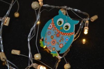 Childrens OWL Indoor String Night Light Bedroom Nursery Decor Baby Child Light eBay