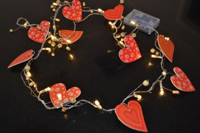 Red String Lights For Bedroom : Girls Red Heart Indoor String Light, Bedroom Nursery Decor Ideal Gift, Unwanted eBay