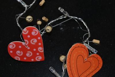 Girls Red Heart Indoor String Light, Bedroom Nursery Decor Ideal Gift, Unwanted eBay