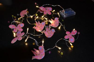 Indoor Butterfly String Lights : Girls Bird Butterfly Indoor String Night Light New Ideal Gift Unwanted eBay