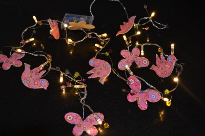 Butterfly String Lights For Bedroom : Girls Bird Butterfly Indoor String Night Light New Ideal Gift Unwanted eBay