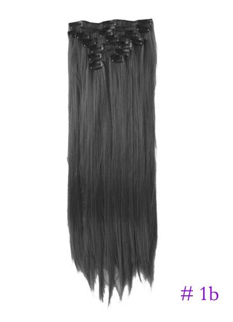 20-034-22-034-Full-Head-Clip-in-Hair-Extensions-Wavy-Curly-Straight-NOT-Human-Hair