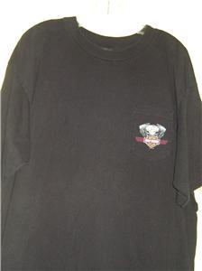 Harley Davidson Black Short Sleeve T Shirt Columbus Ohio A D Farrow Co