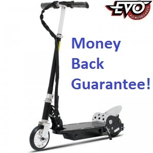 Evo 120w electric motor scooter standing powerboards best for Stand on scooters with motor