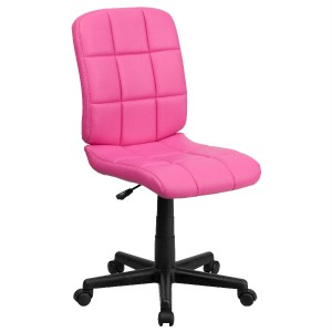 Best pink fun design office desk task computer chair kids for Fun chairs for adults
