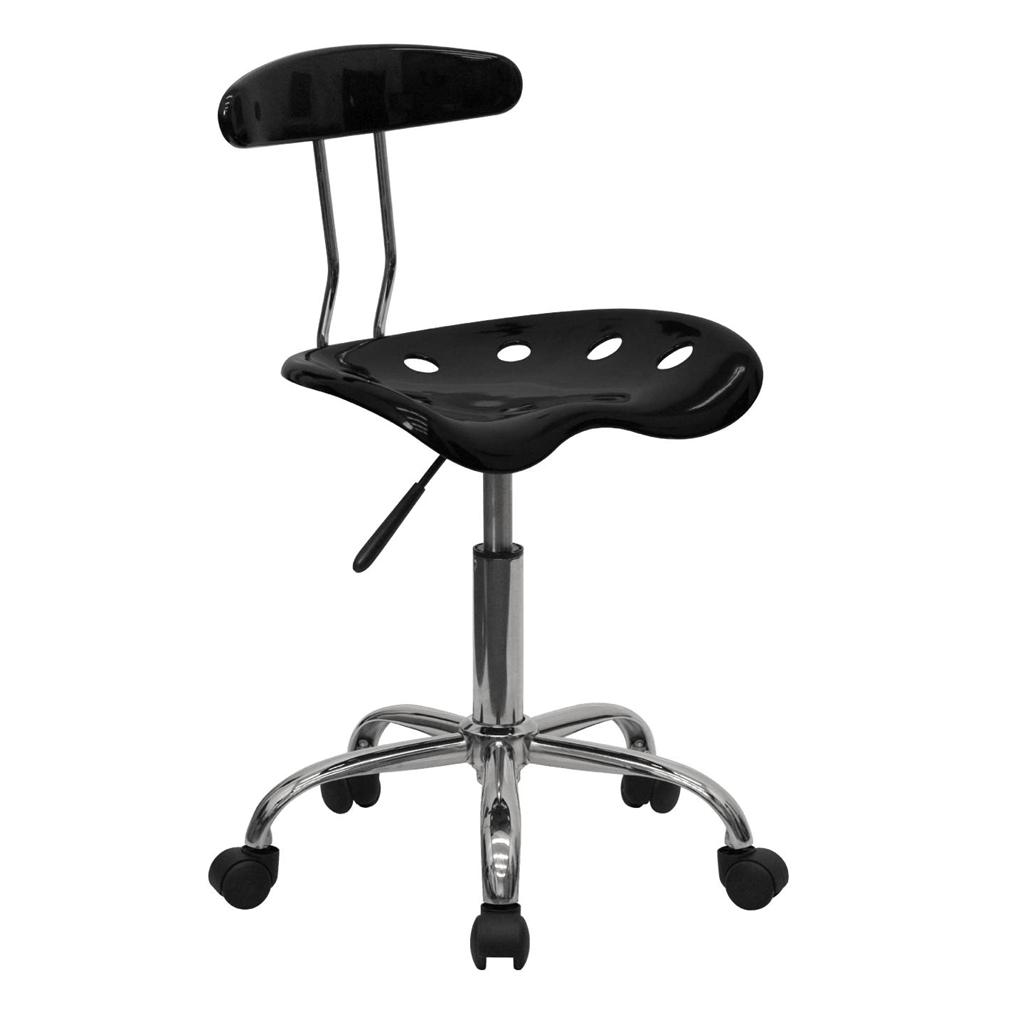Tractor Seat Desk Chair : Best tractor seat chrome metal computer task desk office