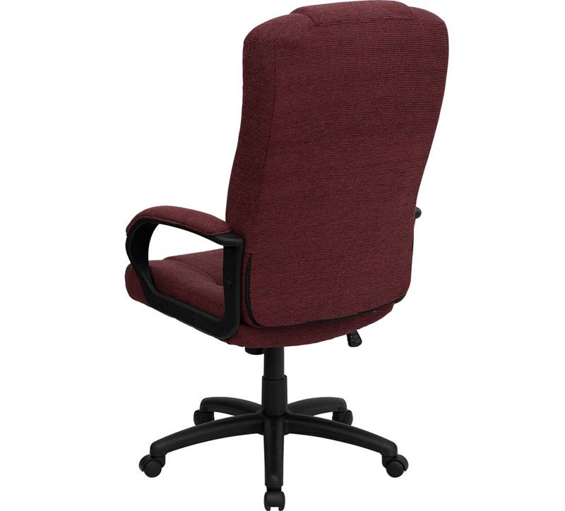 best high back executive desk computer office chair fabric swivel