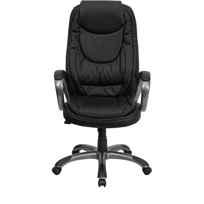 Best Heavy Duty High Back Leather Executive Desk Office Chair Comfortable Swi