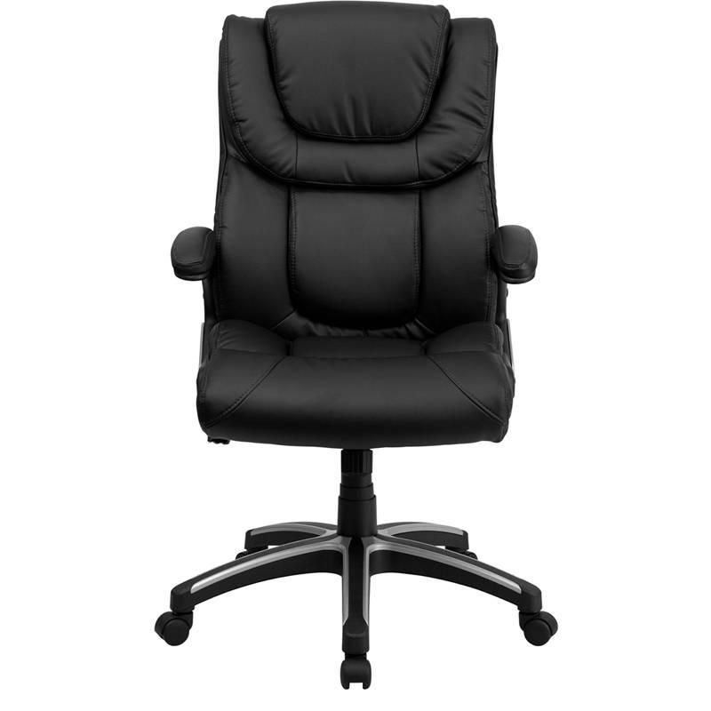 Best Heavy Duty High Back Leather Executive Desk Office Chair Ergonomic Swive