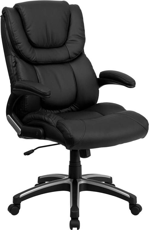 about best heavy duty high back leather executive desk office chair
