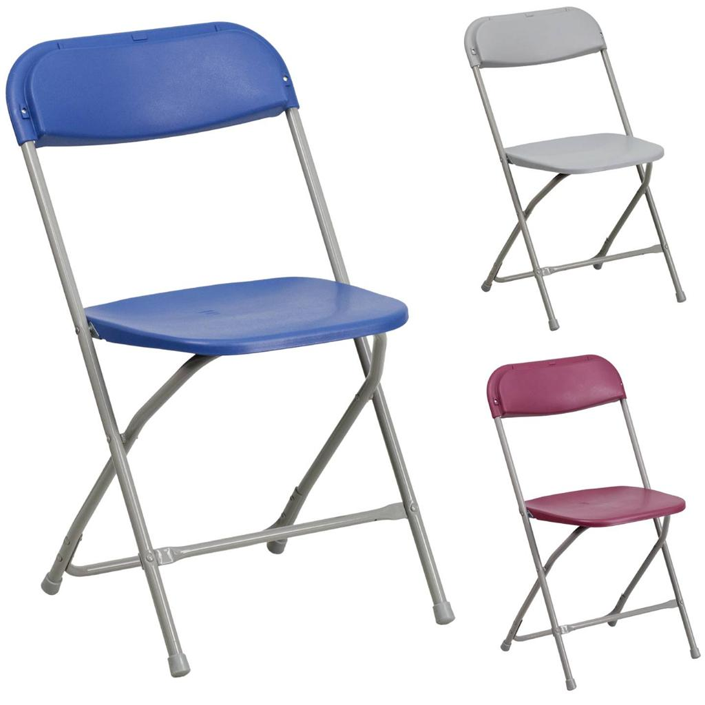 Folding Chair Heavy Duty Metal fice Event School Indoor Outdoor Warranty
