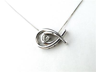 Diamond 14k white gold christian jesus fish necklace ebay for Christian fish necklace