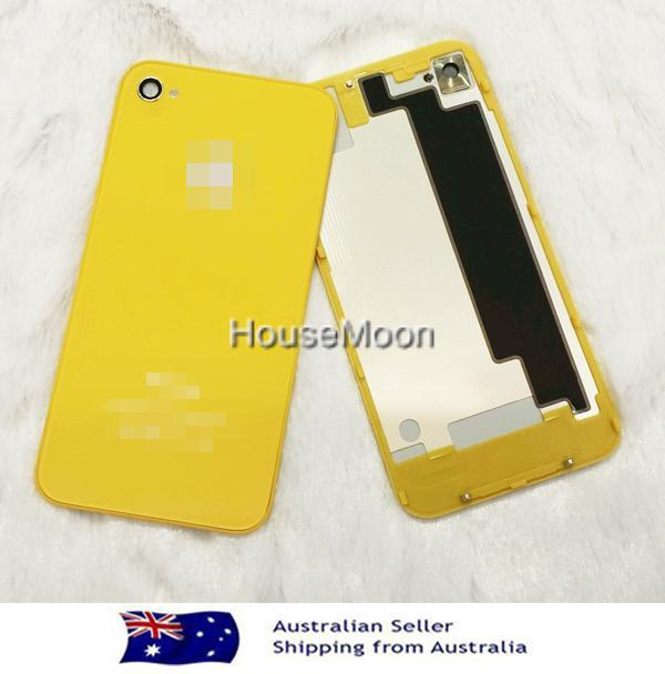 Yellow-Color-Back-Glass-Screen-Replacement-for-Iphone4