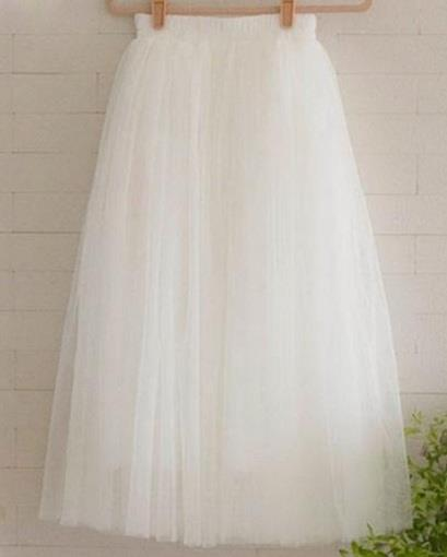 how to make a long tulle skirt with layers