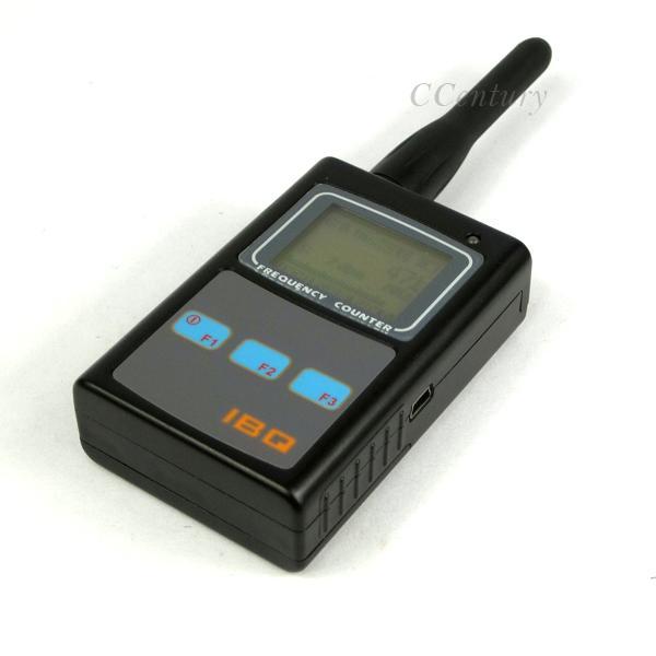 Handheld Rf Meter : Original handheld radio frequency counter meter wide range