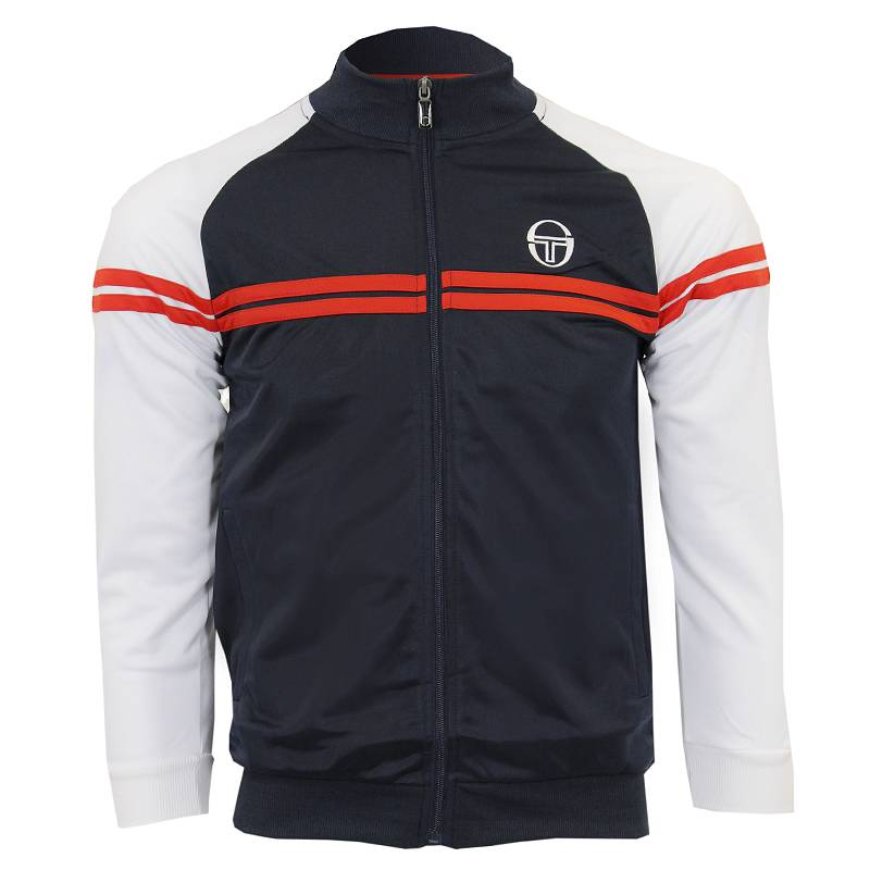 sergio tacchini junior jacket top tracksuit boys top size. Black Bedroom Furniture Sets. Home Design Ideas