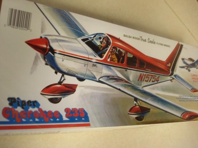 Comet Piper Cherokee 235 Flying Model Airplane Kit Factory Sealed Ebay