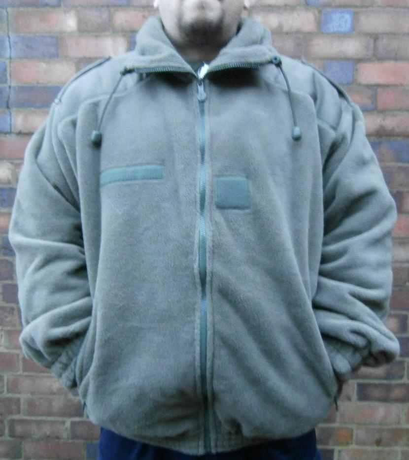 FRENCH MILITARY SURPLUS POLAR FLEECE COLD WEATHER ISSUE THICK