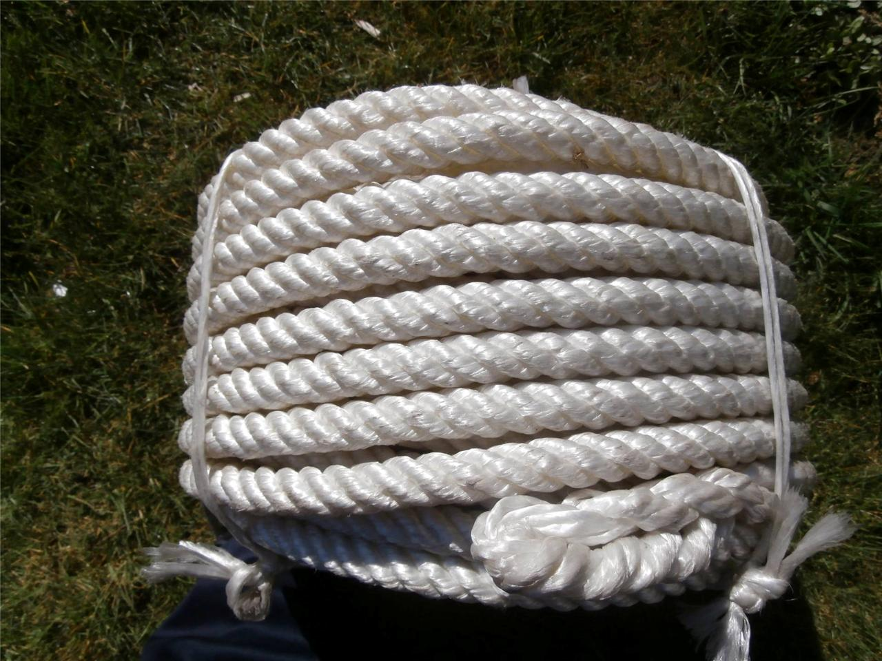 20mm x 50m heavy duty marine military rope multi purpose for Heavy rope for nautical use