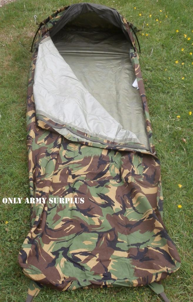 how to use a military bivy bag