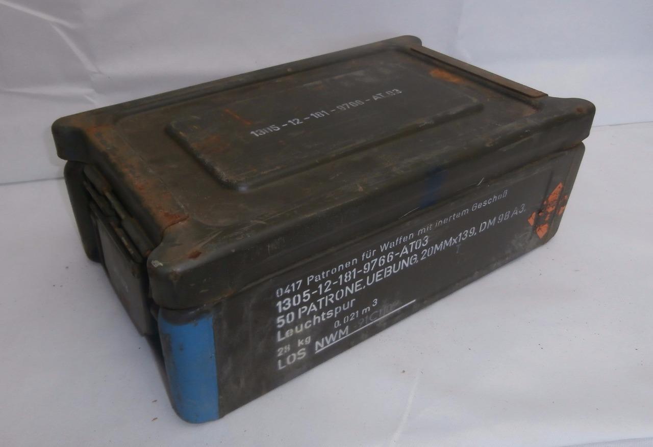 Item specifics & German Army C32 Ammo Box Tool Box Heavy Duty Storage Box Army ... Aboutintivar.Com