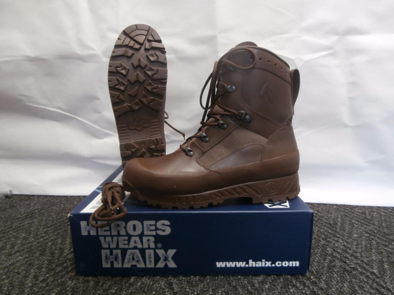 British Army Haix Brown Boots Goretex 174 Waterproof