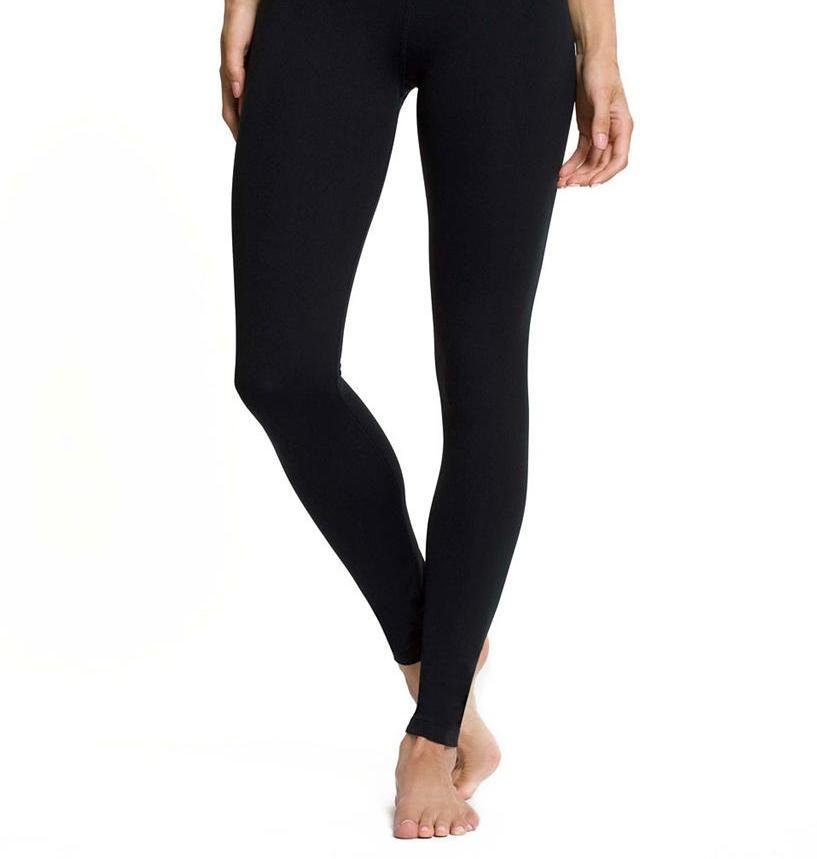 New Cotton Long YOGA LEGGINGS S - 3XL Tight Pants Workout Fitness Gym Plus Size