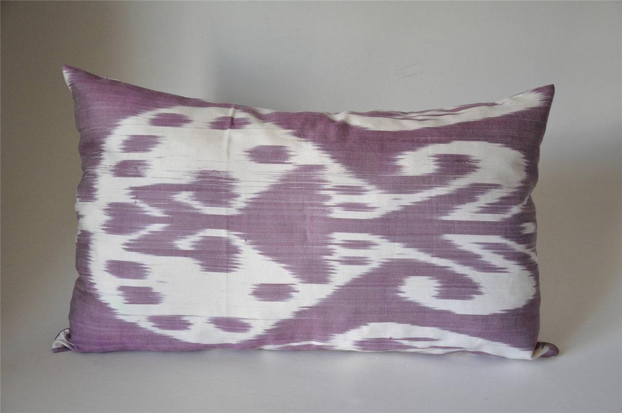 Handmade Ikat Throw Pillows : Pillow-case Ikat decorative Silk Handmade eBay