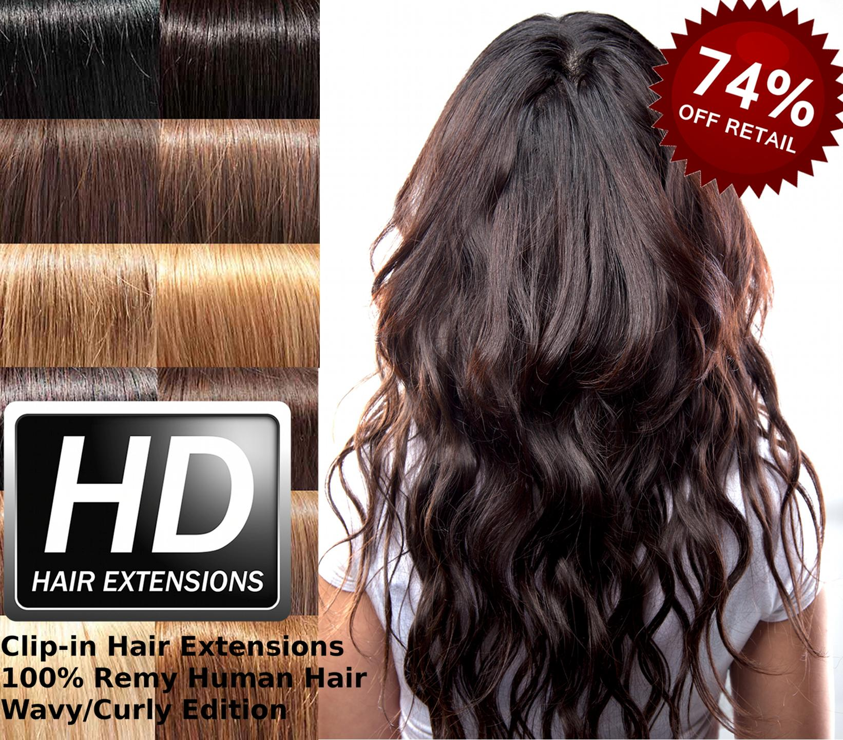 100 Real Hair Extensions 76
