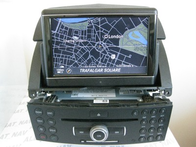 mercedes benz comand ntg4 w204 c class sat nav 6 cd. Black Bedroom Furniture Sets. Home Design Ideas